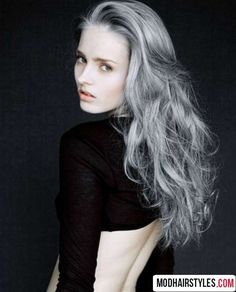 2016 hair color ideas metallic ash blonde and gray hair colors gray hair color…