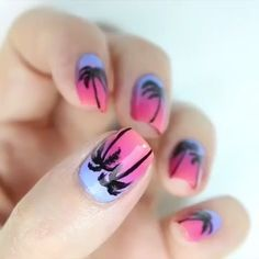 30 Beautiful Nailart Ideas For All The Gorgeous Girls With Pretty Nails Simple Nail Art Videos, Nail Art Designs Videos, Cute Nail Art Designs, Classy Nails, Cute Nails, Pretty Nails, Rose Nail Art, Gel Nail Art, Nail Dipping Powder Colors