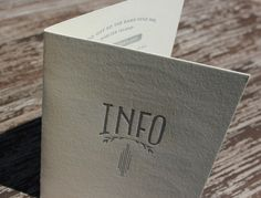 1920s-Inspired Elegant Hand Lettered Wedding Invitations. Ladyfingers Letterpress on Oh So Beautiful Paper.