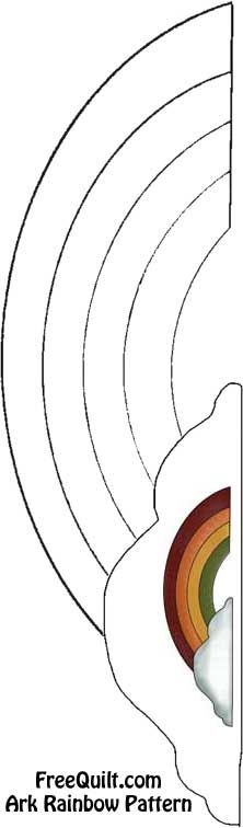Ark Rainbow Quilt Patterns