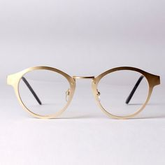 NEW Oversized retro Round Optical frames glasses Metal Aluminium Alloy Clear Lens Frames computer eyeglasses UNISEX UV400 GOLD-in Eyewear Frames from Men's Clothing & Accessories on Aliexpress.com | Alibaba Group