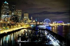 Seattle at night - Photo by Anthony May