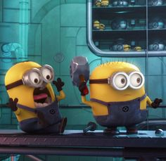 You've got to love the minions