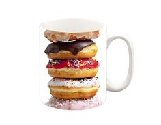 Donuts with frosting, Donuts with sprinkles, glazed donuts, any kind of donut is amazing! Get this all-over print Donuts Cooking Apron from Lets Rage and you will be every cops best friend! Dunkin Donuts, Doughnuts, Krispy Kreme Doughnut, Beloved Shirts, Donut Glaze, Funny Mugs, Cookies Et Biscuits, Ways To Save Money, Money Tips