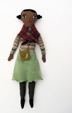 Autumn Girl by Mimi Kirchner   http://mimikirchner.com/blog/