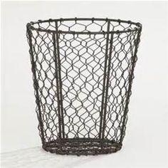 Wire Garbage Baskets - Bing images