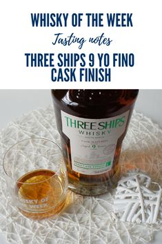 Review and tasting notes for the Three Ships 9 yo Fino Cask Finish whisky Blended Whisky, Whisky Tasting, Malt Whisky, Ships, Notes, It Is Finished, Single Malt Whisky, Boats, Report Cards