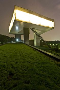 Sifang Art Museum by Steven Holl via The Smithsonian
