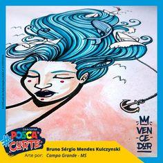 O ganhador desse #POSCAcurte é um cara que desenha muuuuito! Parabéns, Bruno Kulczynski Ilustrações!