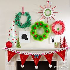 A sleighful of easy and amazing DIY Christmas Wreaths!