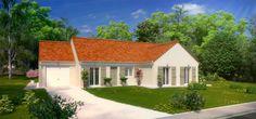 - Modèle : Unik / 4 chambres / 118m² Nord Loire  - Cette maison actuelle et familiale offre un aménagement fonctionnel pour que chaque membre de la famille ait son propre espace de vie. #maison #maisons #home #frenchhouse #construction #maisonspierre