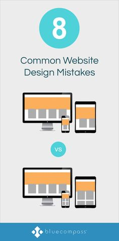 Ready to redesign your website and include the modern design trends you've pinned? A minimalistic approach could be less effective for your audience. Avoid the 8 common mistakes web designers make when creating a new website. #webdesigner  #graphicdesign #uxdesign #SEO #DigitalMarketing
