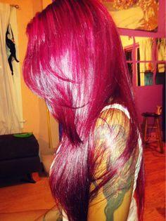 linda textura e cor de cabelo