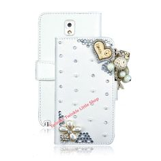 Flip Leather Phone cases for Samsung Galaxy Note 3 I love you Case Valentine's Day present phone cover //Price: $7.38//     #storecharger