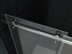 Mueller Basic Shower Door 130-140cm ANTI-KALK - KV203853 | Sanitairkamer.nl