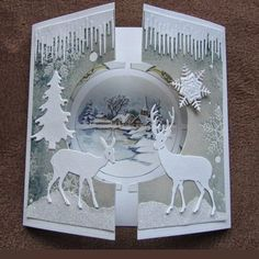 Image result for marianne designs santa's sleigh card ideas