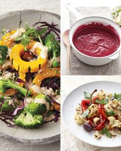 What to eat while on the standard process 21 day cleanse dressing roasted garlic and beet soup roasted peppers cauliflower and almonds print all of the week 1 recipes learn more about how the cleanse works fandeluxe Image collections