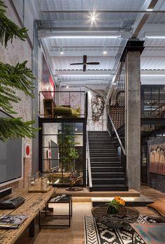 Loft Interior Design, Loft Design, Exterior Design, Interior Architecture, Interior Decorating, Building Architecture, Design Bedroom, Amazing Architecture, Bedroom Decor