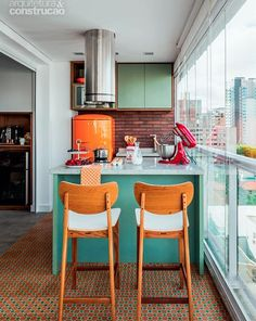 Great ideas for a small contemporary and functional space in Brazil
