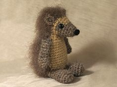 Crochet amigurumi hedgehog pattern por SonsPopkes en Etsy
