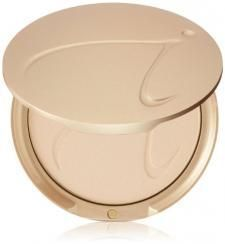 The Jane Iredale pressed powder is seriously my go to i love it i dont need to use foundation I can get just as mush coverage with just this i love it because there is also just things that will help your face in this and I'd recommend to anyone #RosaceaHelp,TipsandAdvice