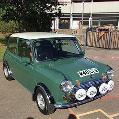 #classicminis #rallycar #classicmini #classicminicooper Mini Coopers, Mini S, Rally Car, Classic Mini, Vintage Cars, Heaven, Van, Trucks, World