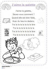 Chanson j'aime la galette Les paroles illustrées de la chanson j'aime la galette.. World Thinking Day France