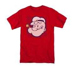 Popeye - Head Adult Regular Fit T-Shirt