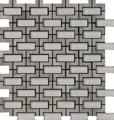 Discount Glass Tile Store - Elite Mosaics - Louvre Wooden Gray Glass and Stone Mosaics - Free Shipping, $39.67 (http://www.discountglasstilestore.com/elite-mosaics-louvre-wooden-gray-glass-and-stone-mosaics-free-shipping/)