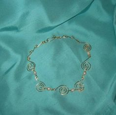 Boadicea Celtic Queen Gold Spirals Necklace by MayroseTreasures, $100.00