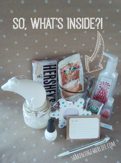 Dreaming of a White Christmas teacher gift - great idea! Container ...
