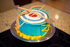 Brave Birthday Party Cake by camknows, via Flickr