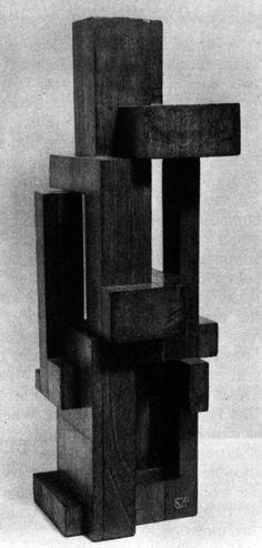 Georges Vantongerloo, Construction of Volume Relations, 1921