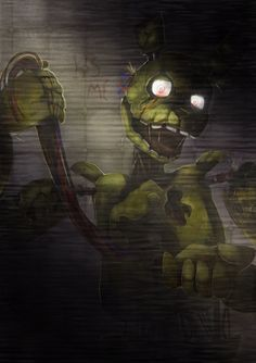 Five Nights at Freddy's: Springtrap [RE-UPLOAD] by Ink-Leviathan on DeviantArt