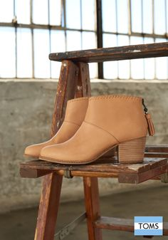 New look, same opportunity to give. Meet TOMS Leila Booties.