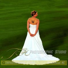 Beautiful Bride Wedding Portrait