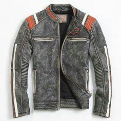 Men's Leather Jacket, Biker Leather, Leather Men, Motorcycle Leather, Leather Jackets, Custom Leather, Mode Man, Revival Clothing, Look Cool