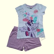 My Little Pony White & Lilac S/S Pyjamas