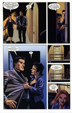 """Selina and Bruce Wayne...I guess some things never change."""