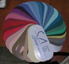 True Crystalline Summer color palette 2
