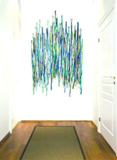 HUGE Painted Wood Wall Sculpture - Abstract Painted Wood Wall Sculpture Large Original Wall Sculpture Art Installation by Rosemary Pierce art diy art easy art ideas art painted art projects Wood Painting Art, Sculpture Painting, Wood Sculpture, Wood Wall Art, Framed Wall Art, Modern Wall Sculptures, Glass Wall Art, Painting Walls, Abstract Sculpture