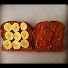 Whole Wheat Bread, RAW ORGANIC Honey, Banana, Natural Peanut Butter #Pre-Burpee #CrossFit food (Taken with instagram)