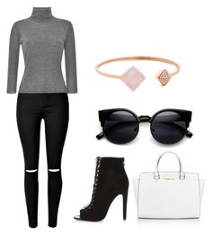 """""""Untitled #33"""" by helloimlilly on Polyvore featuring Blumarine, Michael Kors, women's clothing, women, female, woman, misses and juniors"""