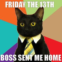 Little Friday the 13th humor