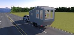 'Family Road Trip' Tiny House Design Sleeps Four!