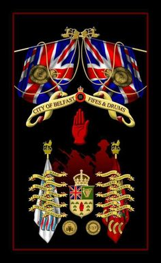 City of Belfast Fife's & Drums Northern Ireland Fc, Northern Irish, Rangers Football, Rangers Fc, Republic Of Ireland, The Republic, British Empire Flag, Fife And Drum, Orange Order