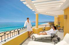 Enjoy breathtaking views of the Sea of Cortez in a corner guest suite at Dreams Los Cabos. #UnlimitedRomance