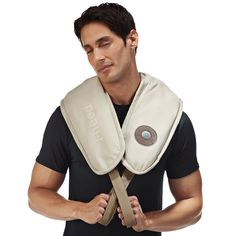 Deep, heated relief for hard-to-reach neck, shoulder and back muscles.