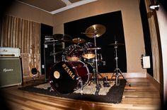 Allure Sound l Recording Studio Drum Room by alluresound, via Flickr  Commercial Image