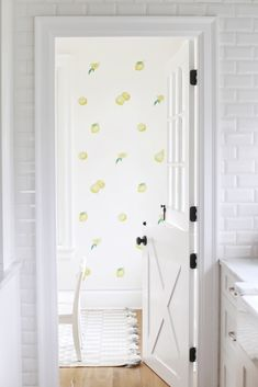 Nothing Sour about Lemon Decals - Urbanwalls Removable Vinyl Wall Decals, Kids Room Murals, Bedroom Themes, Bedroom Ideas, New House Plans, White Walls, Creative Inspiration, Home Interior Design, Playroom